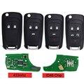 DJBFANDEA Автомобильный Дистанционный ключ для Chevrolet Malibu Cruze Aveo Spark Sail 2/3/4/5 кнопок 433 МГц пульт дистанционного управления брелок