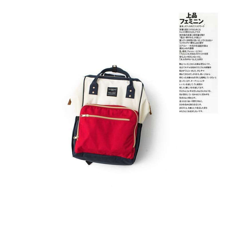 Japan Sun Earth & U Lotte Backpack Diaper Bag Women's Waterproof Backpack Mommy Bag MOTHER'S Bag