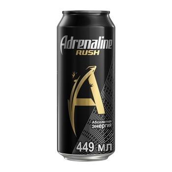 Adrenaline Rush энергетический напиток, 0.449 л