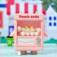 Blind Box Figure Toys City Memory Vending Machine Series 9 Style Random Surprise Model PVC Figurine Garage Kit Gift 8Pcs/Set