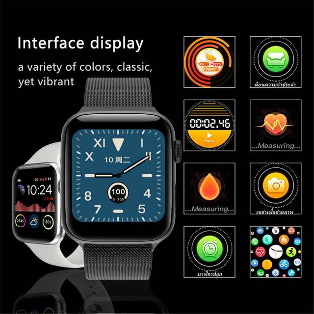 Full Touch smart watch band Men Series Smart Watches