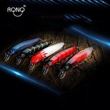 RQNQ 2020 Neue Aussetzung Minnow Angeln Lockt Duo Rozante Realist 10CM/7,5G Wobbler Für Hecht Angeln Locken barsch Meer Bass Köder