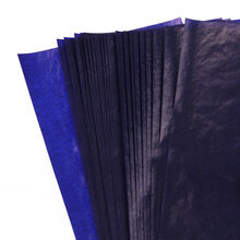 Stationery Finance Paper Office-Supplies Thin-Type 48K Blue Double-Sided NEW 50PCS