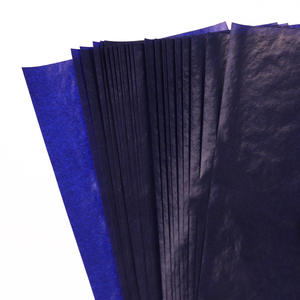 Stationery Paper Office-Supplies Thin-Type 48K Blue Double-Sided Finance NEW 50PCS