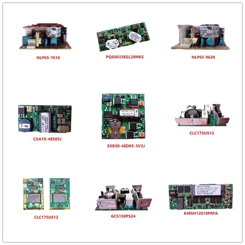NLP65-7610  PQ60033EGL20NKS  NLP65-9620  CXA10-48S05J  EXB30-48D05-3V3J  CLC175US12  PKM4111DPINB  GCS150PS24  E48SH12010PRFA