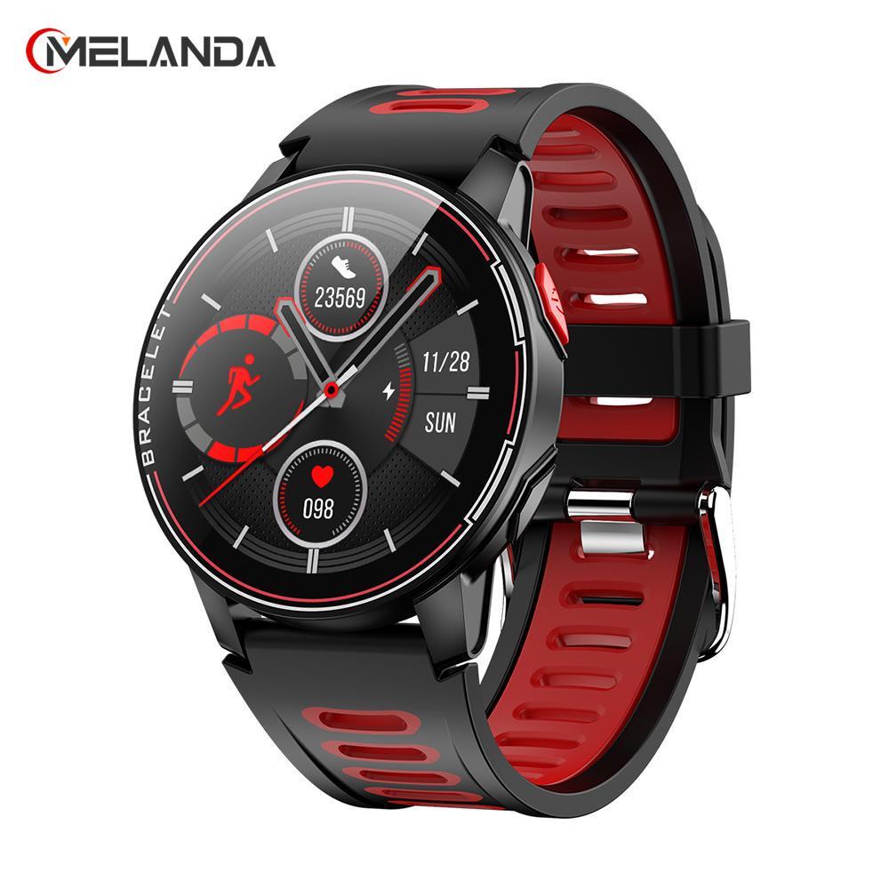 MELANDA IP68 Wasserdichte Intelligente Uhr Fitness Tracker Heart Rate Monitor Smart Uhr Männer Frauen Neue Smartwatch Für Android IOS