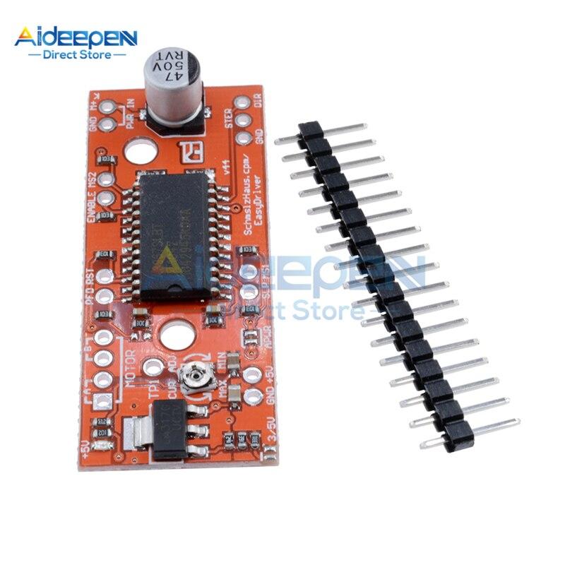 A3967 Stepper Motor Driver Module Easy Driver Stepper Motor Driver 3D Printer A3967 Module Development Board For Arduino