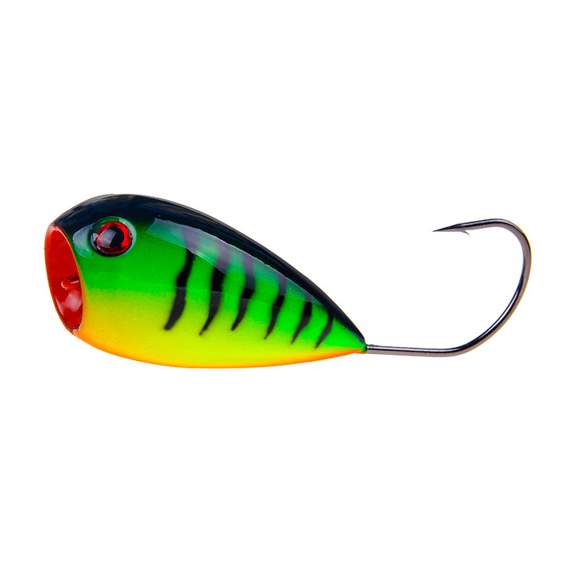 1Pcs 8cm 13g Croatian EGG 80mm Floating Fishing Lure Hard Bait Swimbait Wobblers Popper with Single Hook Pesca