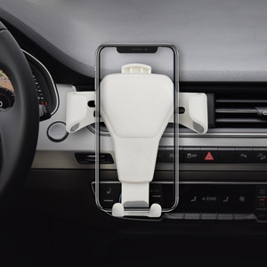 Image 4 - Car Phone Holder For Smartphone Gravity Bracket Universal For Phone In Car Air Vent Mount Stand No Magnetic Mobile Holder