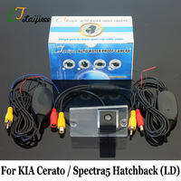 For KIA Cerato Spectra5 Hatchback LD 2003~2008 / HD CCD Car Parking Camera / RCA AUX Interface Wireless Auto Rearview Camera
