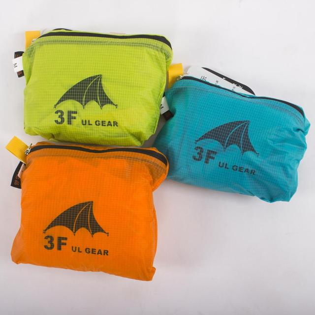 3F UL GEAR Backpack Cover Rain Cover 210T 15D  Bag Cover 2
