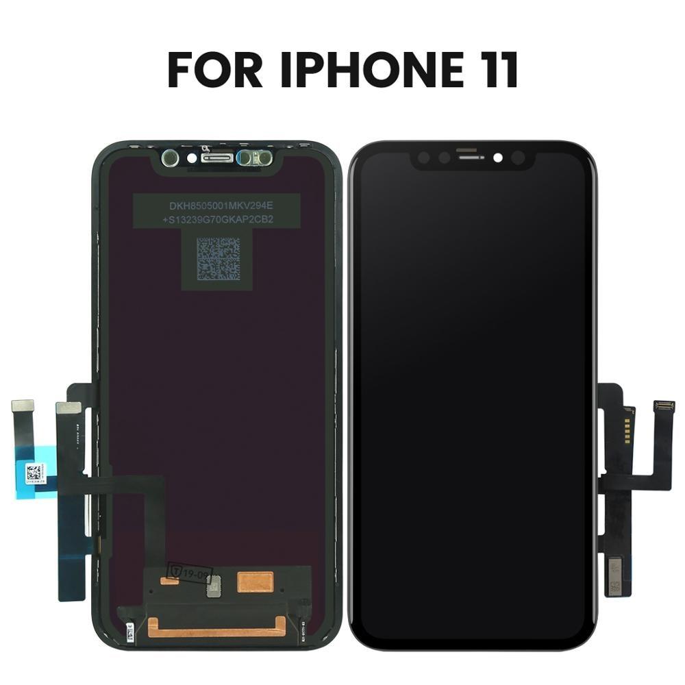Замена ЖК экрана для OnePlus 7 1 + 7 Мобильный телефон ЖК дисплей дигитайзер сенсорный экран сборка запчасти - 2