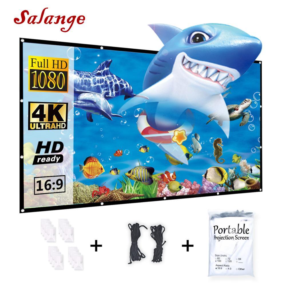 Salange Projector Screen,60 72…