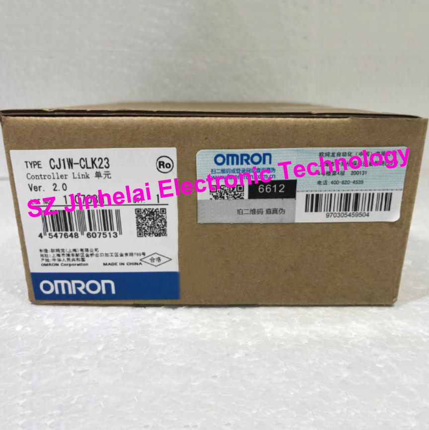 100% New and original  CJ1W-CLK23 OMRON Controller link unit