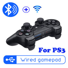 Wireless Bluetooth Gamepad For PS3 Controle Gaming Console Joystick Remote Controller For Playstation 3 Gamepads