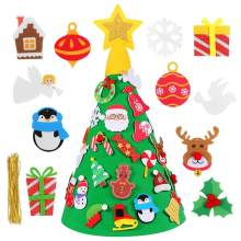 1 PC 80 ซม.Felt Christmas Tree DIY Christmas Tree 29PCS (China)