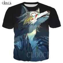BEASTARS Cartoon Anime 화이트 티셔츠 스웨터 풀오버 3D 늑대 동물 프린트 남성/여성 티셔츠 하라주쿠 Oversized T Shirt