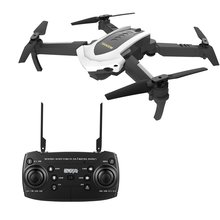 4D-8 WIFI 5MP Camera Foldable RC Drone Optical flow positioning Remote Control Helicopter Aircraft with LED light