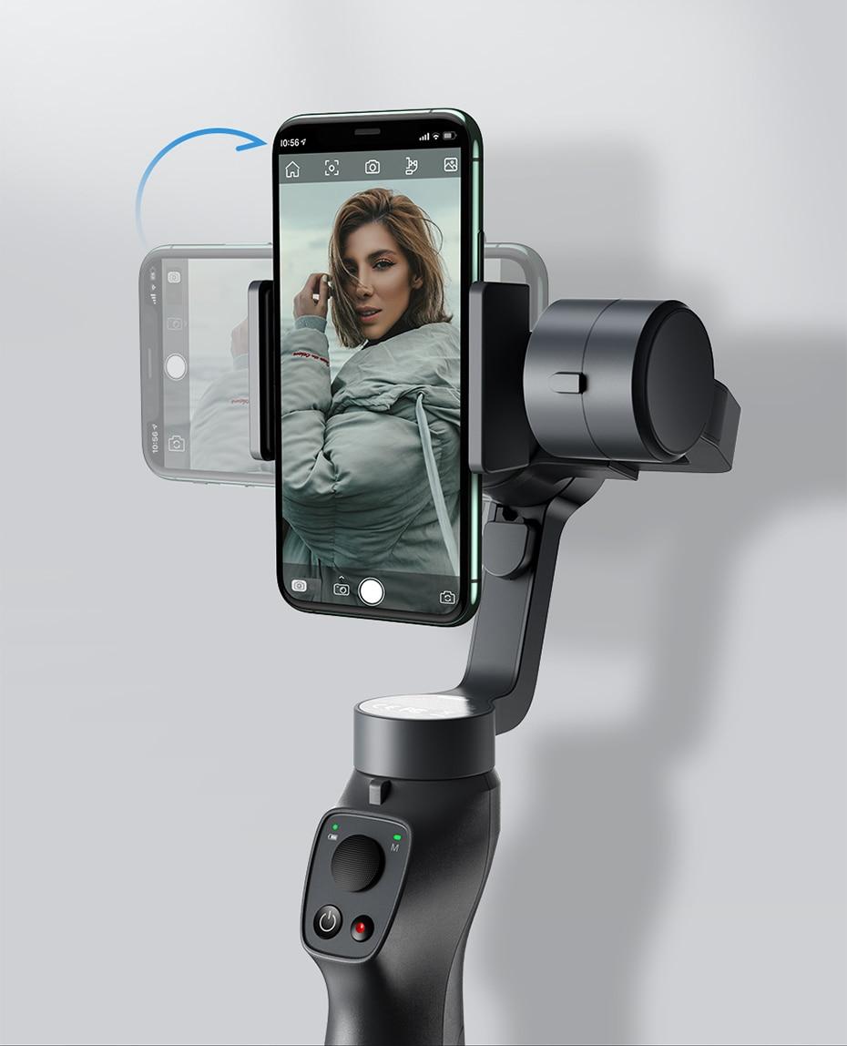 Baseus 3 axis βάση κινητού για selfies iphone 11 pro max samsung xiaomi msow