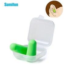 2 шт (1 пара) затычки sumifun для ушей шумоизоляция сна из мягкого
