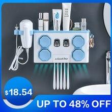 Автоматический Дозатор  настенный держатель присоска для зубной