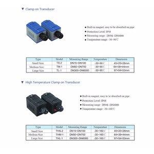 Image 5 - TUF 2000M Flowmeter TS 2(DN15 ~ 100mm)/TM 1(DN50 ~ 700)/TL 1 קולי מודול מד זרימת חיישן מתמר כבל אביזרים