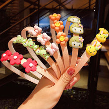 Serre-tête en forme d'animal de dessin animé pour filles, 2/3, fleurs, fruits, ornement pour cheveux, accessoires pour cheveux à la mode, nouveauté
