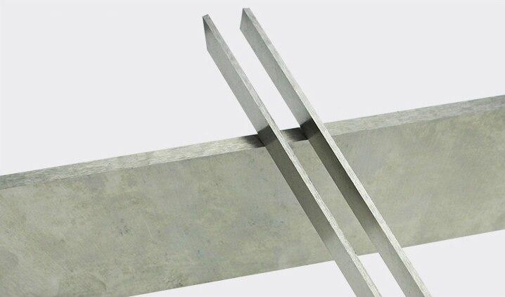 Chipper Knife TCT Planer Blade Solid Alloy Wood Cutter Blade HSS Planer Blades For Timber Peeling
