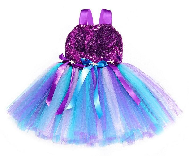 vestido de lantejoulas flor princesa meninas vestido