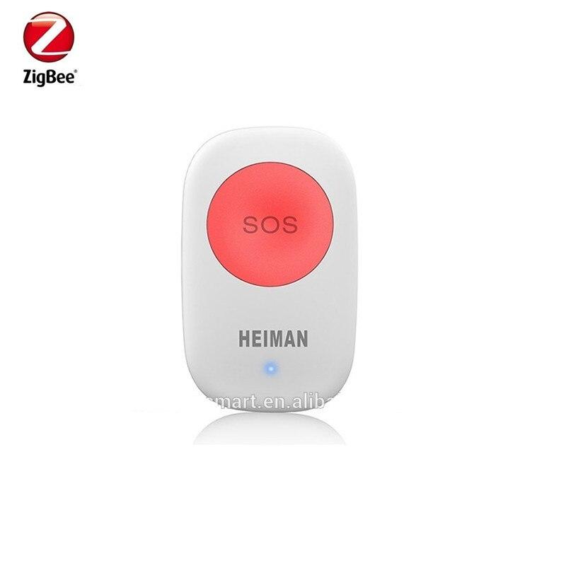 Heiman Zigbee SOS Panic Button Compatible With Zigbee Gateway