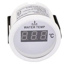 52 مللي متر العالمي مقياس درجة حرارة الماء ل قارب سيارة ميزان الحرارة درجة حرارة الماء متر مؤشر توربو دفعة 12 فولت 24 فولت