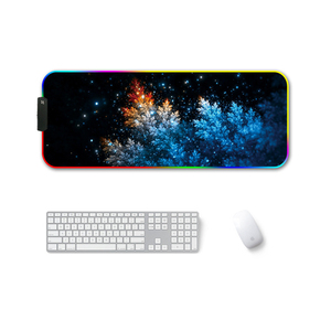 Image 3 - RGB Gaming Mouse Pad Large Mouse Pad Gamer Led Computer Mousepad Big Mouse Mat with Backlight Carpet for Keyboard Desk Rubber