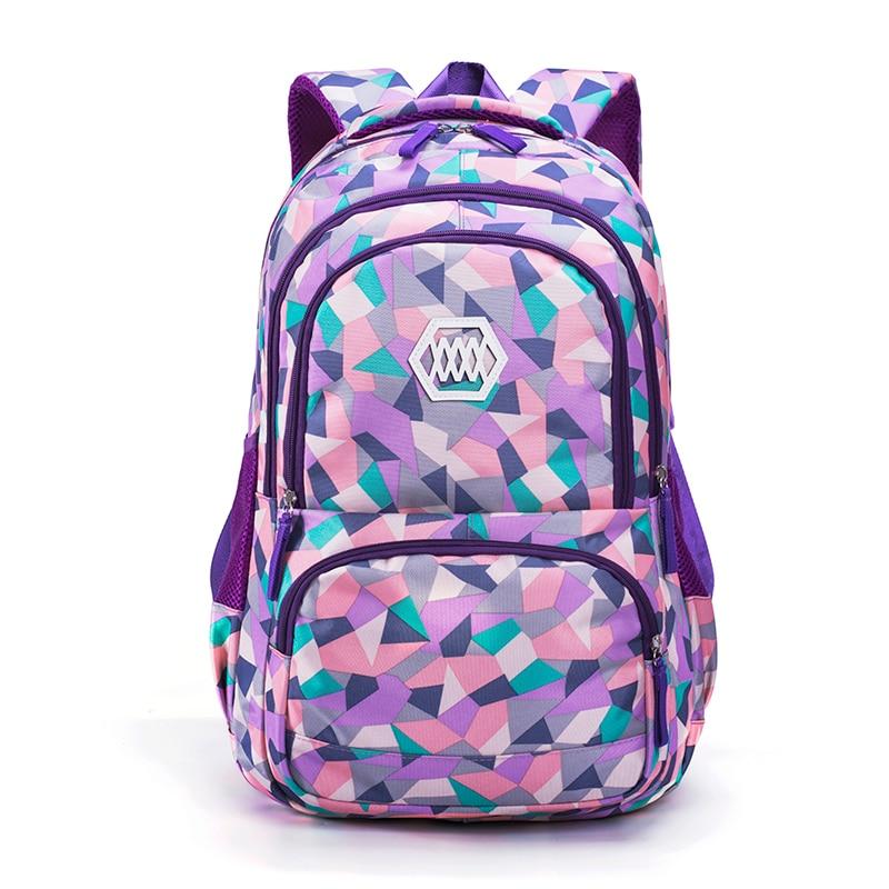 Mochila Backpacks Rucksack Bookbag Shoulder Infantil Waterproof Primary/middle-School-Backpack