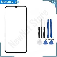 Samsung Galaxy A10 A20 A30 A40 A50 A60 A70 A80 A90 ön dış cam Lens kapağı değiştirme araçları ile