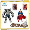7 zoll Mcfarlane DC Die Devastator Superman Modell Spielzeug Action-figuren Spielzeug Für Kinder Geschenk