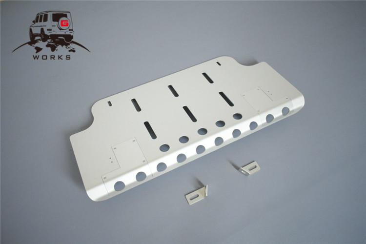 front skid plate (23)