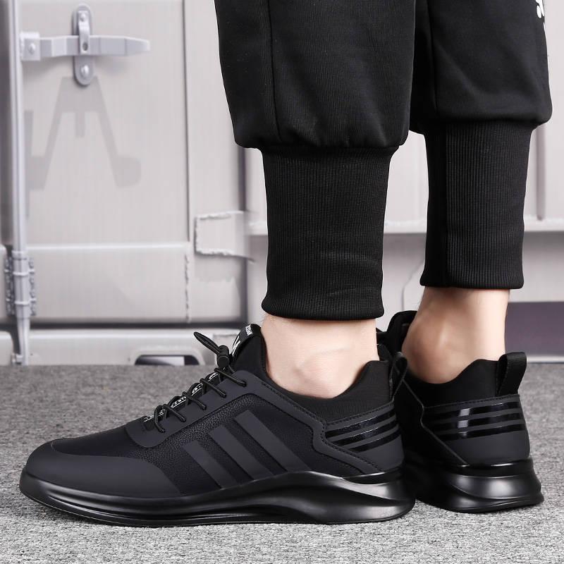 Купить с кэшбэком Damyuan Men's Running Shoes Breathable Comfortable Casual Height Increasing Man Sneakers Non-slip Wear-resisting Men Sport Shoes