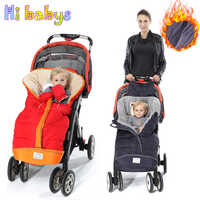 2019 Winter Baby Stroller Sleeping Bags Warm Envelope For Newborn Infant Windproof Cocoon Stroller Sleepsacks Footmuff Foot