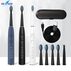 Seago High Quality Sonic Electric Toothbrush Adult 5 Mode USB Charger Rechargeable Tooth Brushes SG575