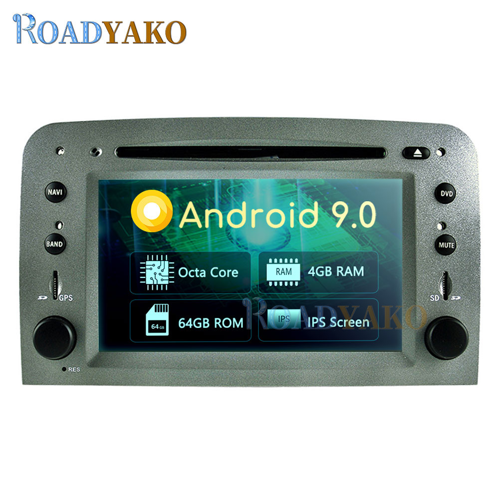 Android 9.0 Auto Car Radio For Alfa Romeo 147 2005 Romeo GT 2007- Stereo Car DVD player Navigation GPS магнитола Autoradio <font><b>2</b></font> Din image
