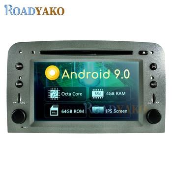 Radio con GPS para coche, Radio con reproductor DVD estéreo, Android 9,0,...