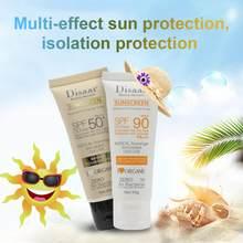 40g disaar beleza facial protetor solar cuidados com a pele spf max 90 óleo livre cobertura de umidade suncreen para o impulso o melhor anti oxidante