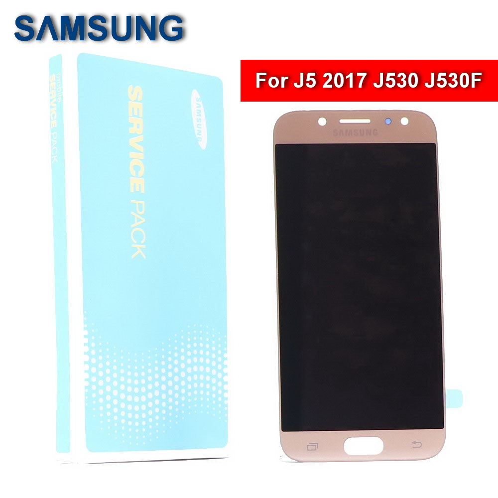 Écran ORIGINAL Super AMOLED J5 LCD pour Samsung Galaxy J530 2017 J5300 J530F numériseur d'écran tactile d'affichage de téléphone