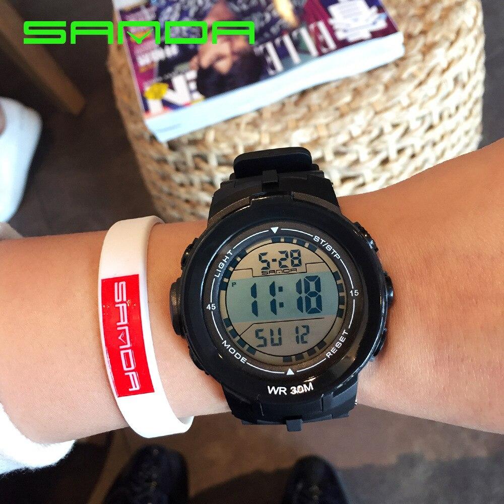 Golf Horloge Men Shockproof Watch Outdoor Sport Waterproof Electronic Relojes Para Hombre Digital