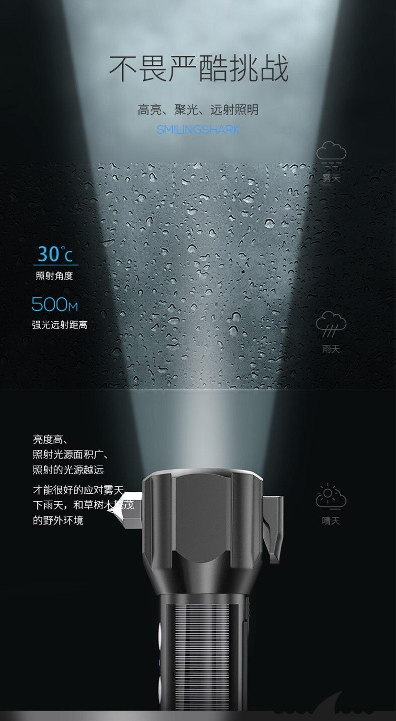 prova dwaterproof água tochas de alta potência