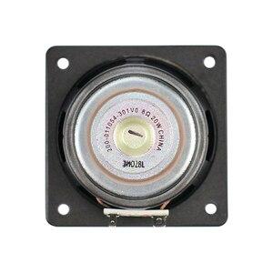Image 4 - 3 calowy głośnik niskotonowy głośnik basowy 8OHM 20W neodymowy multimedialnych kina domowego pulpit gumowy głośnik dla SONY głośnik DIY 2 sztuk