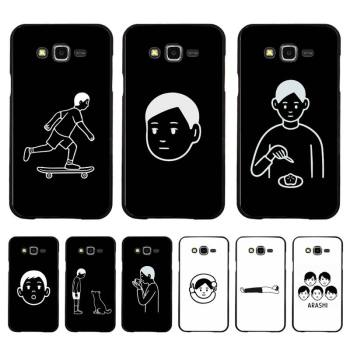 Babaite Noritake Cute Aesthetic art DIY phone Case for Samsung A50 A70 A40 A6 A8 Plus A7 A20 A30 S7 S8 S9 S10 S20 Plus image