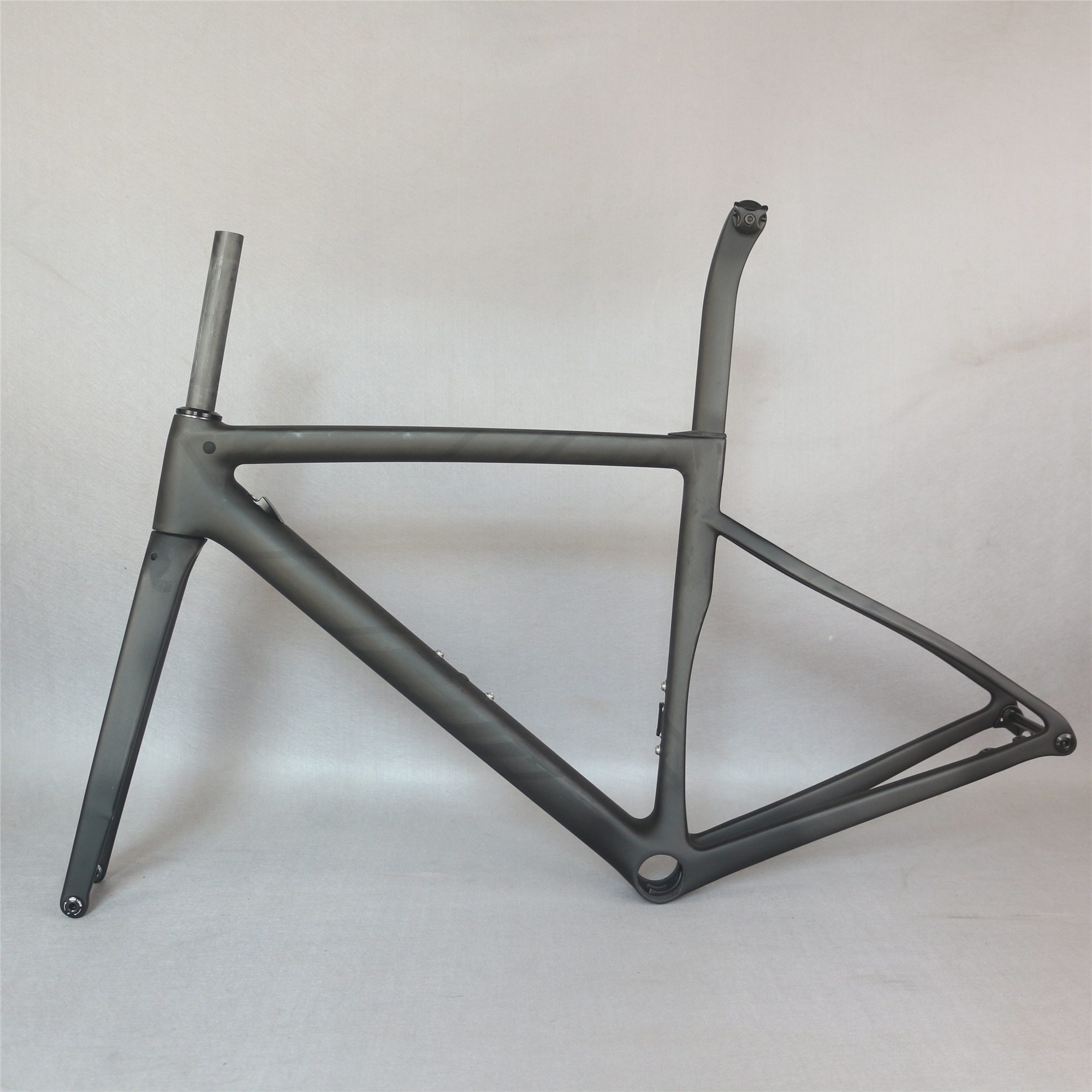 Disc Road Bike Frame TT-X19 UD Matte PF30 Bottom Bracket  44/49/52/54/56/58cm Size Available