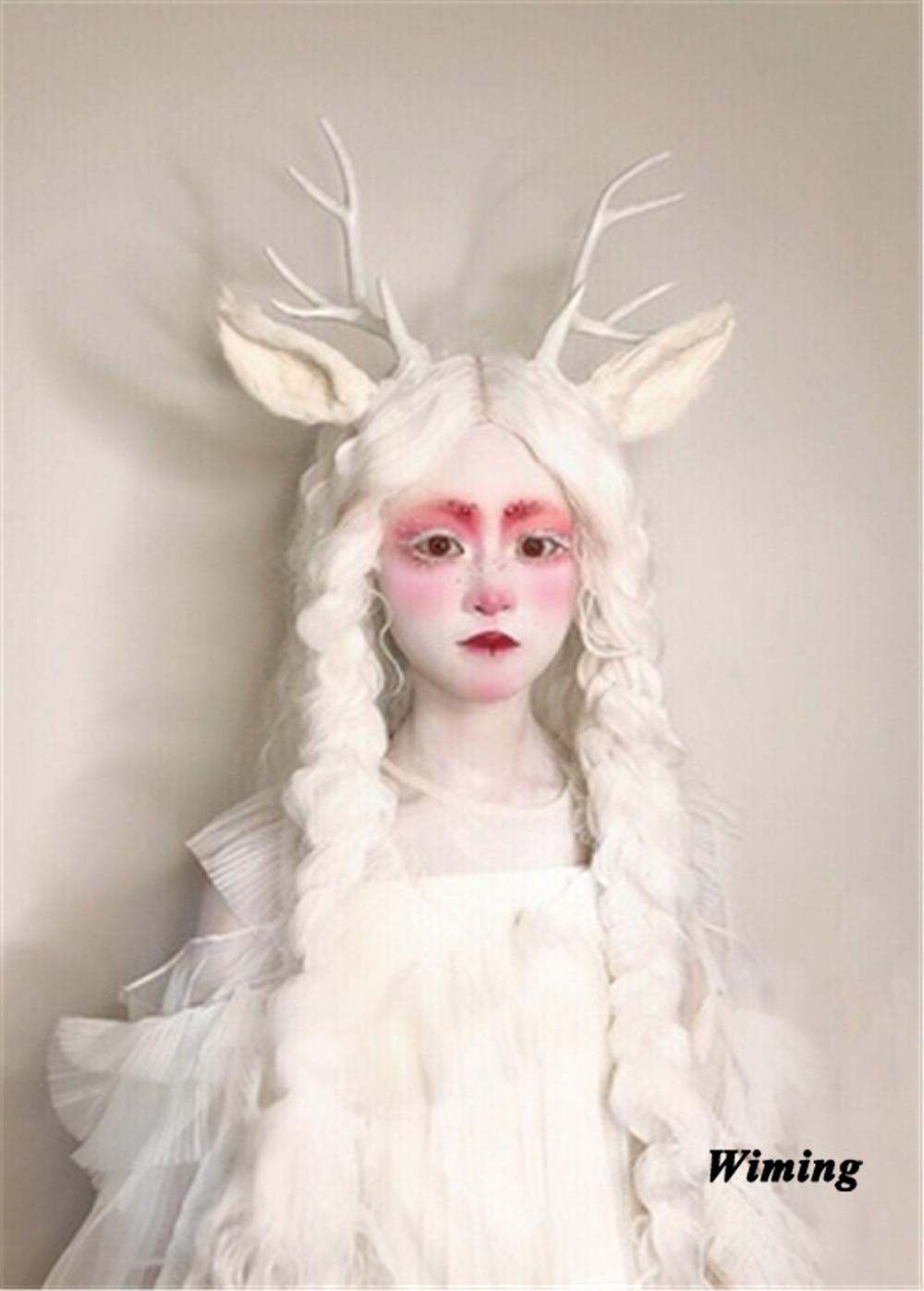 Cute Reindeer Antlers Headband Christmas Girls Kid Deer Costume Ear Hairband