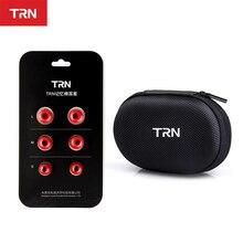 TRN 3Pairs (6pcs) Earphone memory cotton earmuffs Chronic rebound earplugs PU sponge Memory sponge earphone Eartips V90 V20 V30